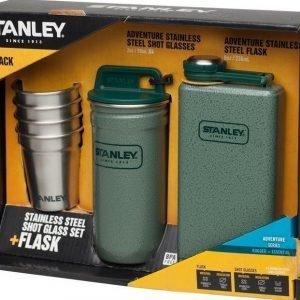 Stanley Adventure taskumatti ja snapsilasisetti lahjapakkaus