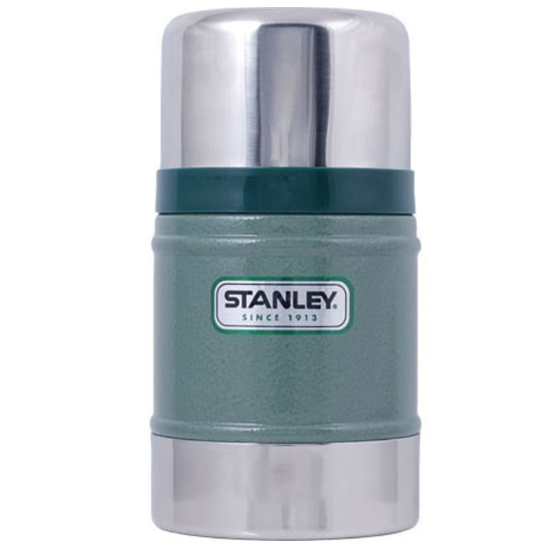 Stanley Classic Vacuum Food Jar 0.5L 1SIZE Hammertone Green