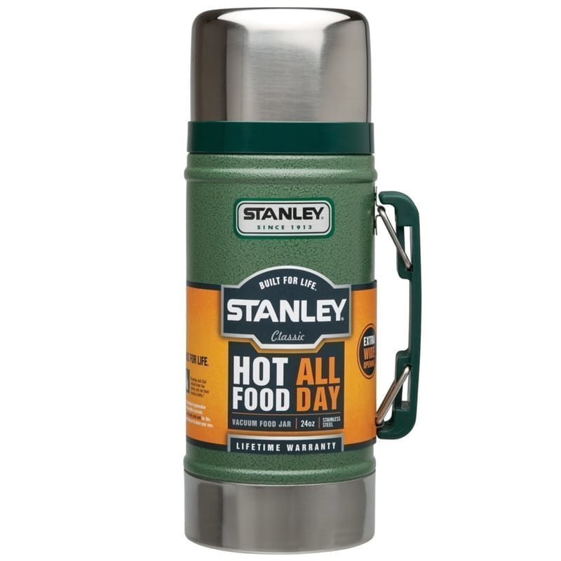 Stanley Classic Vacuum Food Jar 0.7L 1SIZE Hammertone Green