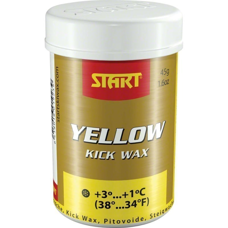 Start Kick Wax Yellow