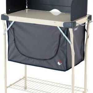 Steel kitchen stand & cupboard