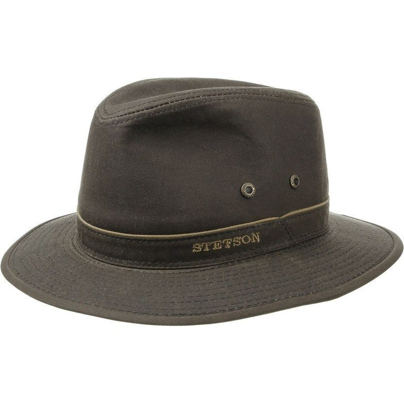Stetson Ava Waxed Cotton M Brown