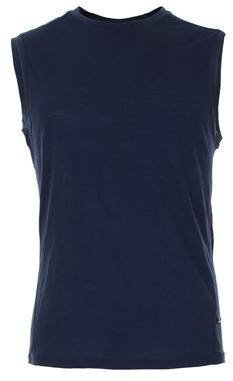 Supernatural Base Layer Sleeveless Top Tummansininen L