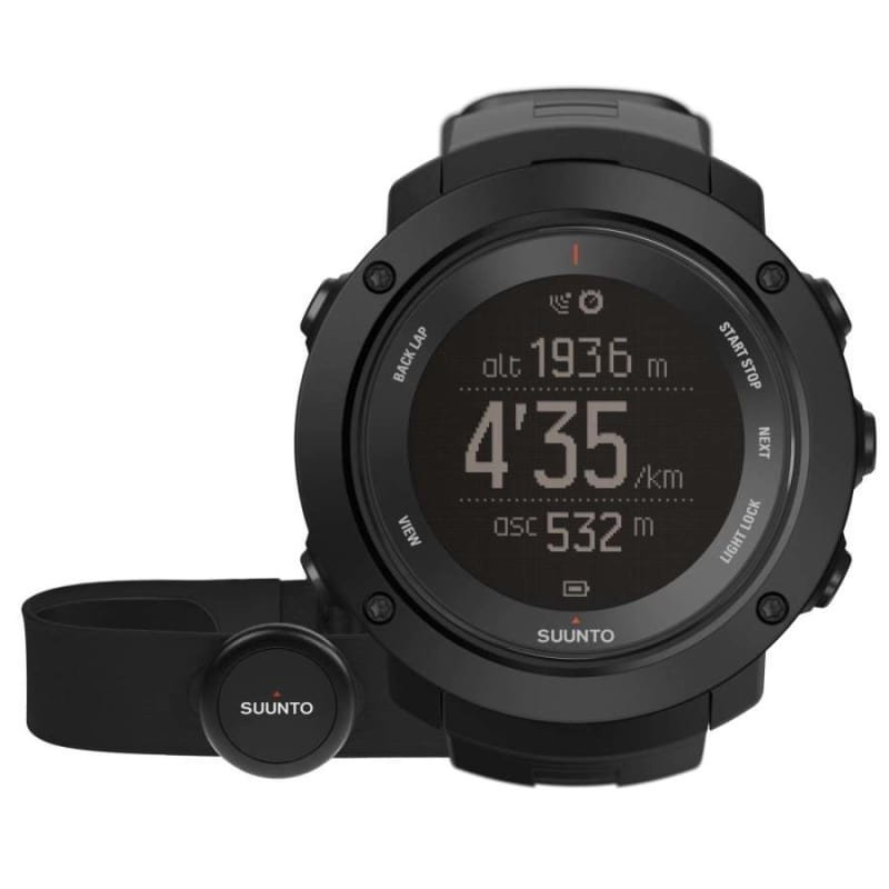Suunto Ambit3 Vertical HR One Size Black