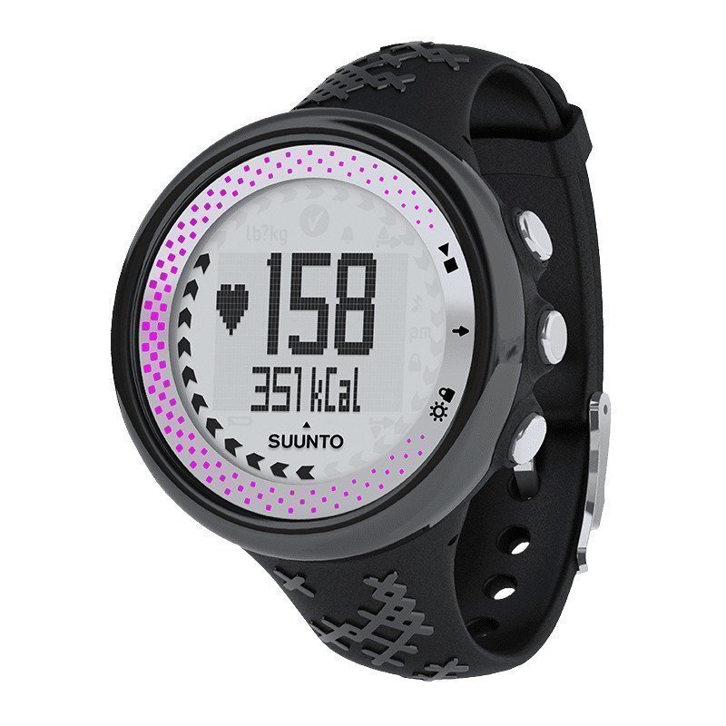 Suunto M5 Women One Size Black/Silver/Pink