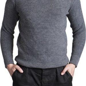 Sveitsiläinen villapaita harmaa ylijäämä