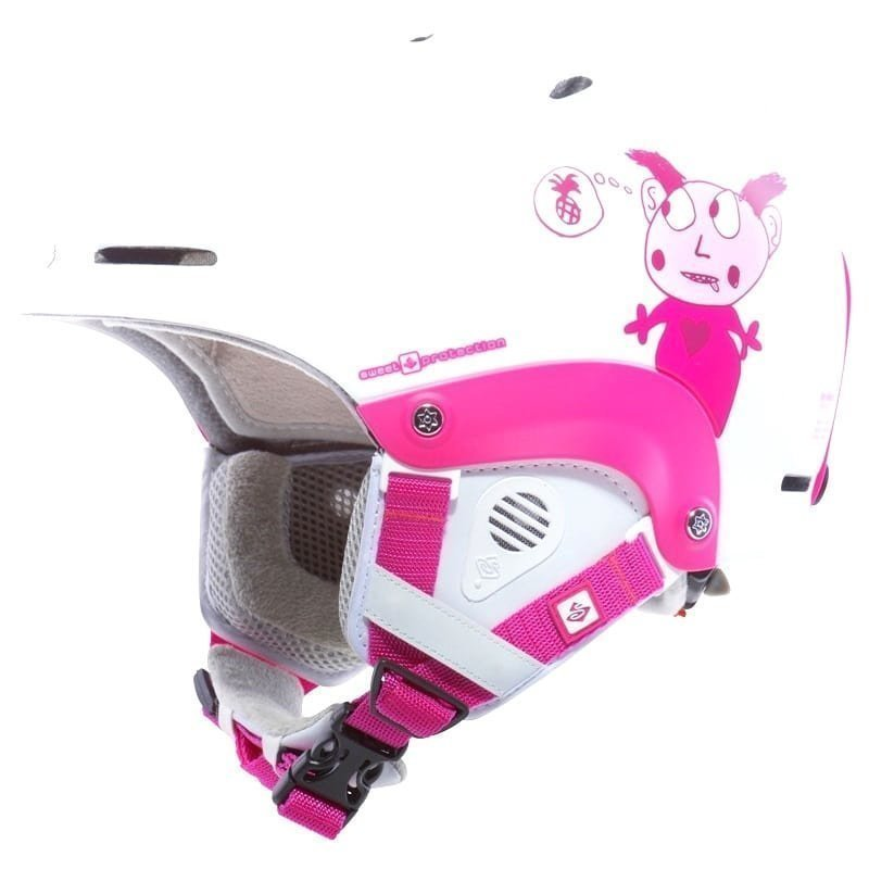 Sweet Protection Blaster Kids Helmet ML Satin White