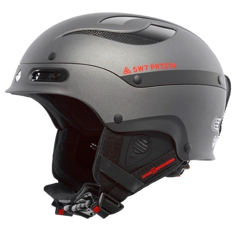 Sweet Protection Trooper Helmet ML Matt Black Metallic