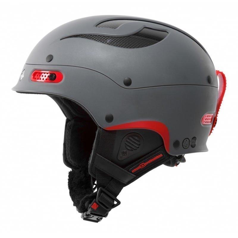 Sweet Protection Trooper Helmet S/M Matt Gray Metallic