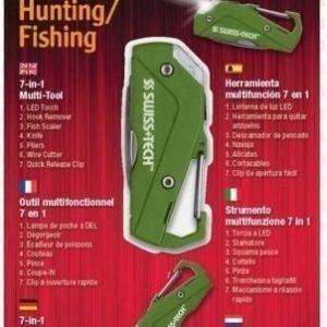 SwissTech Hunting/Fishing monitoimityökalu