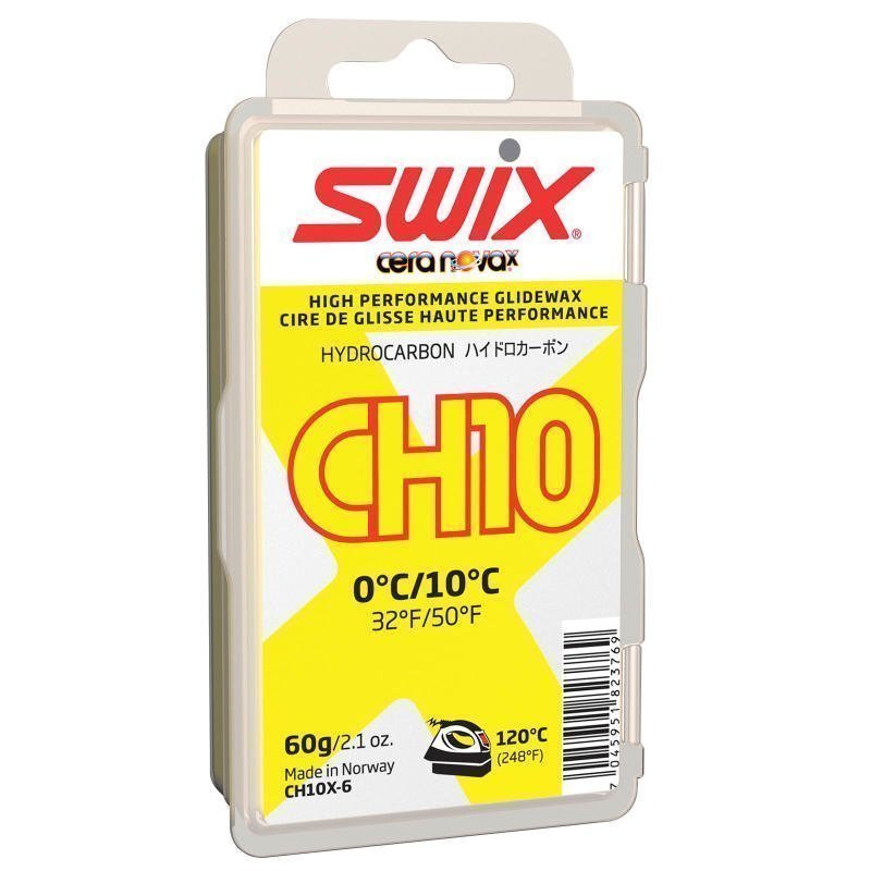Swix Ch10X Yellow 0 °C/10°C 60G 1SIZE Onecolour