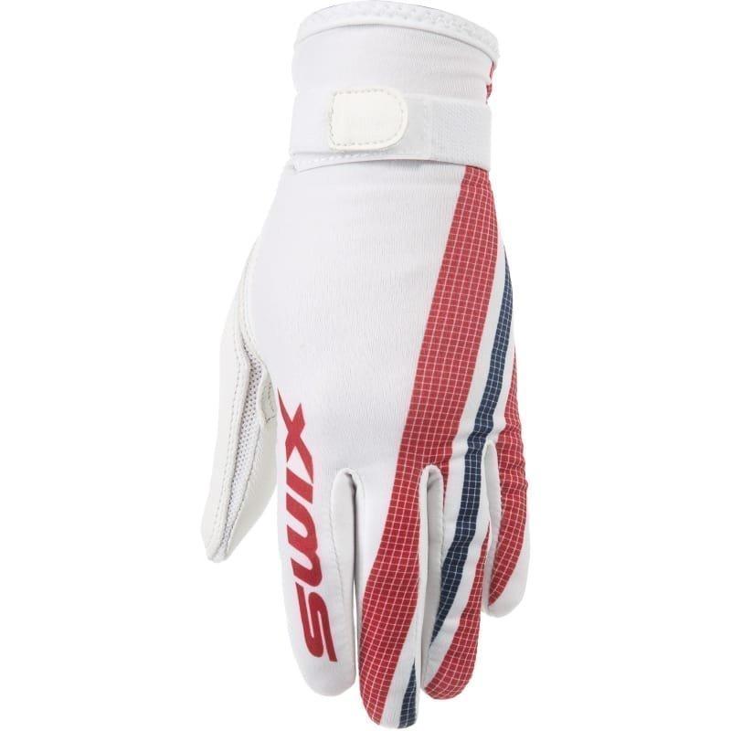 Swix Competition light glove Womens M Bright White