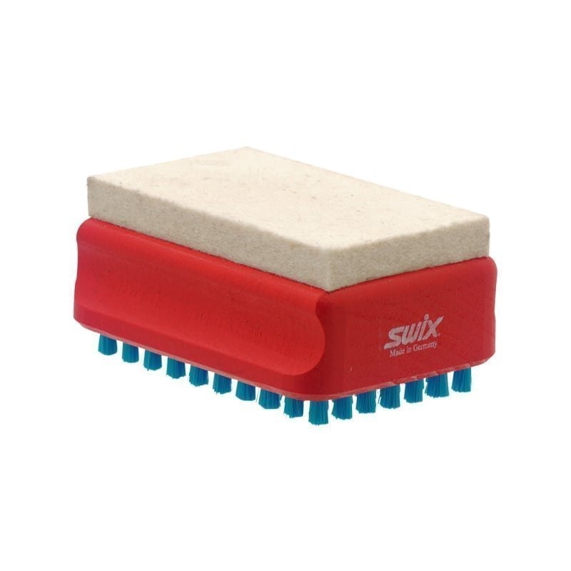 Swix F4 Combi Brush Felt & Nylon 1SIZE Red