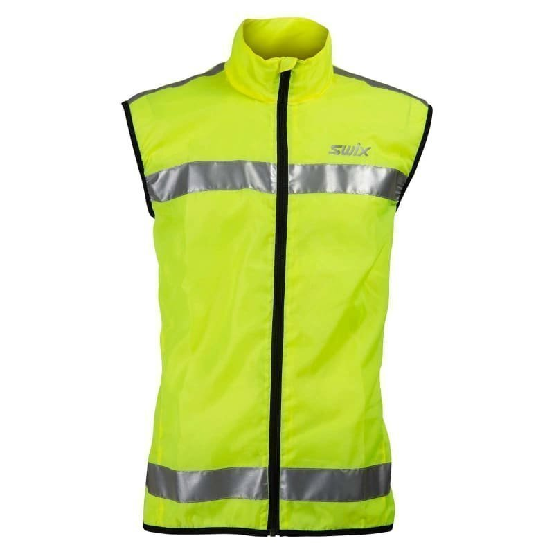 Swix Flash Reflective Vest Unisex XS Yellow
