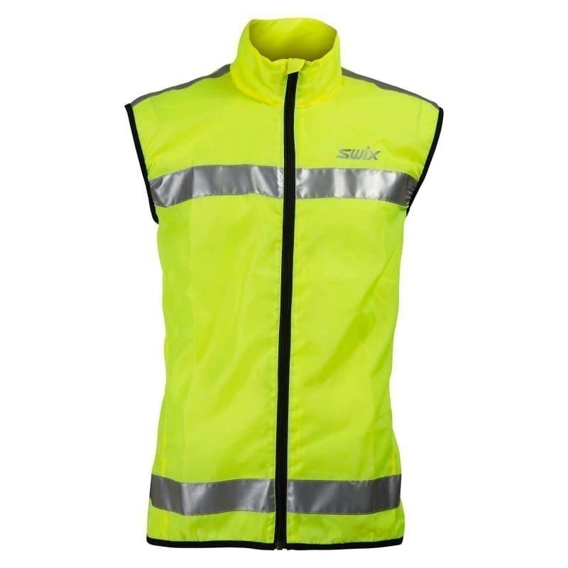 Swix Flash Reflective Vest Unisex XS Yellow