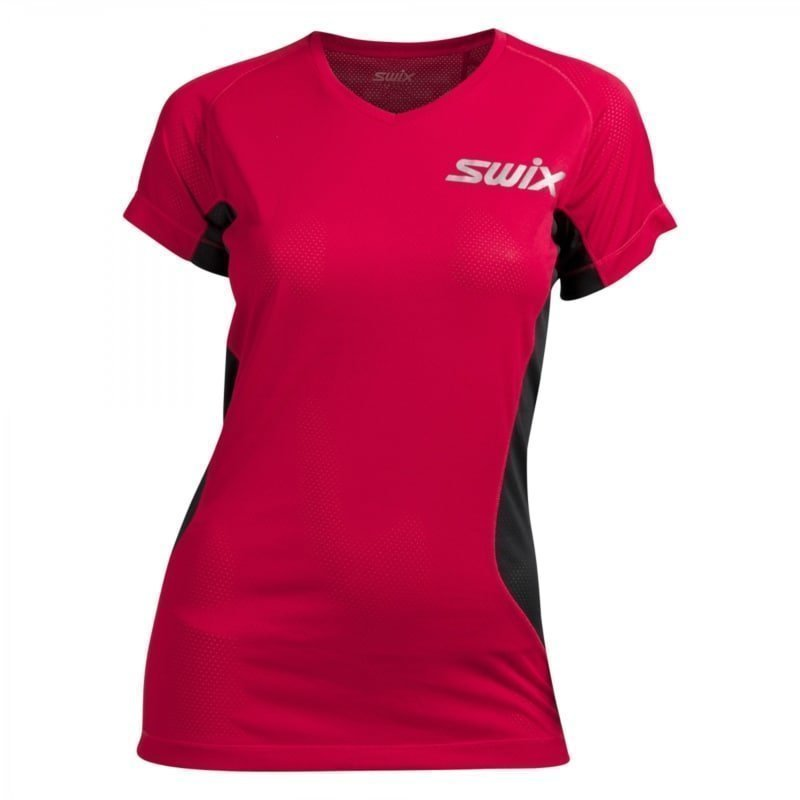 Swix High speed mesh t-shirt Womens L Bright Fuchsia