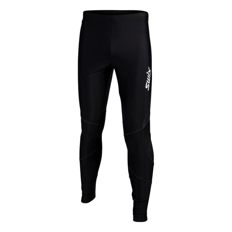 Swix O2 tights long Mens XL Black/Black