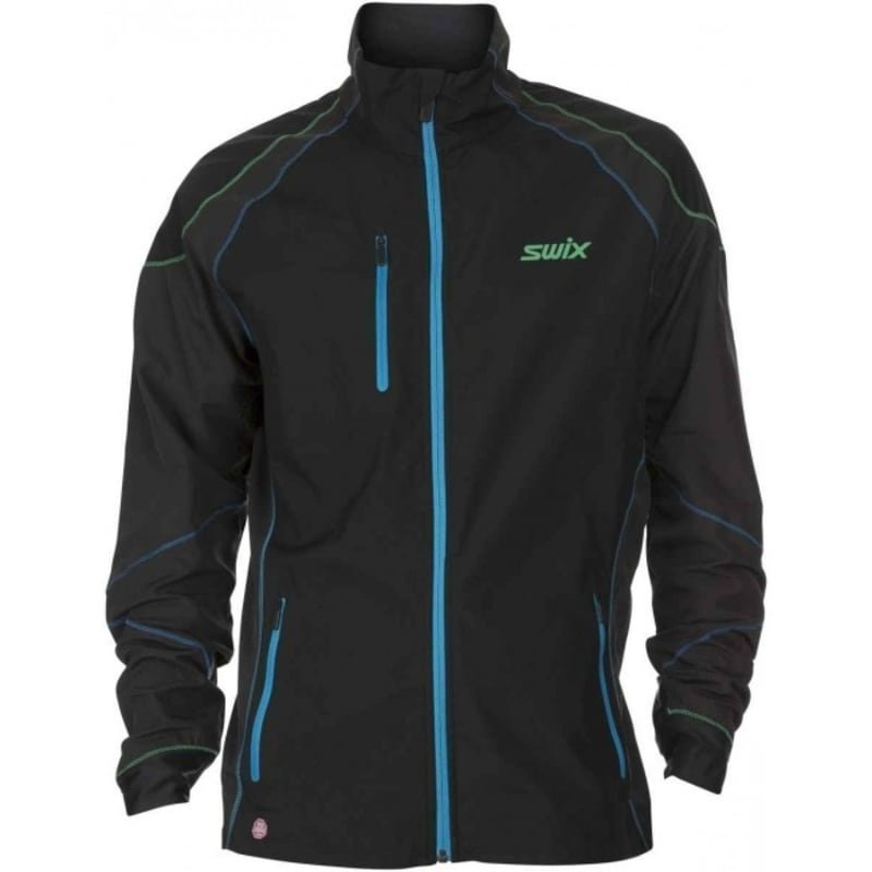 Swix ProFit Revolution Jacket Mens S Frozen Black
