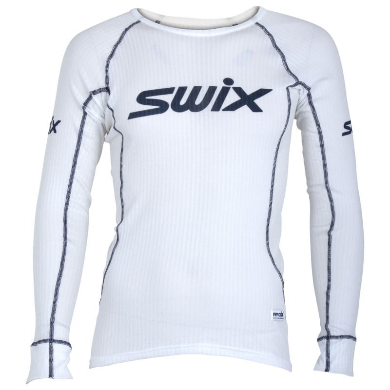Swix RaceX Bodywear LS Mens S Bright White