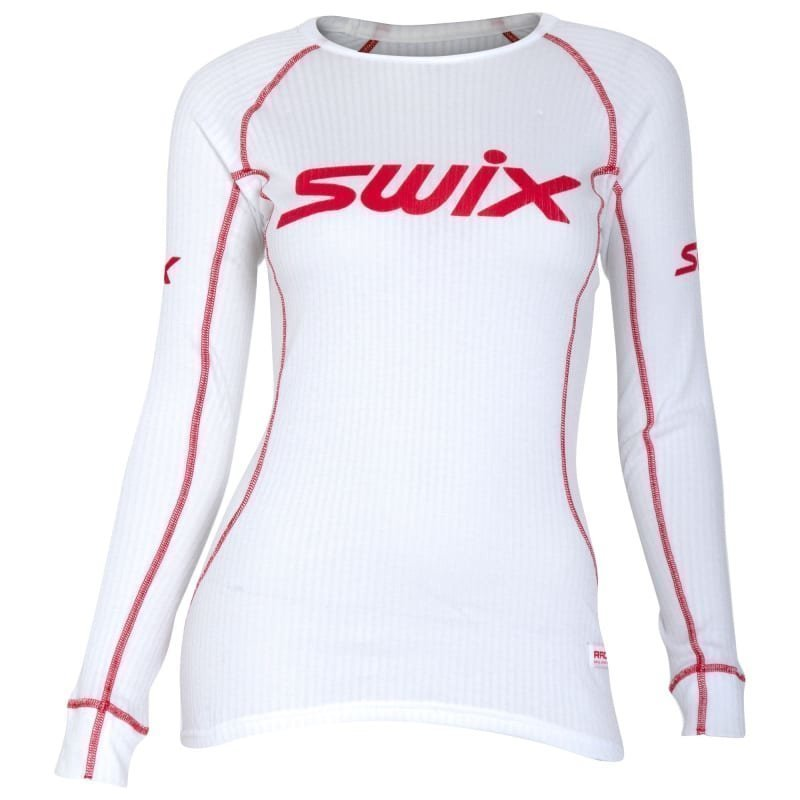 Swix RaceX Bodywear LS Womens S Bright White