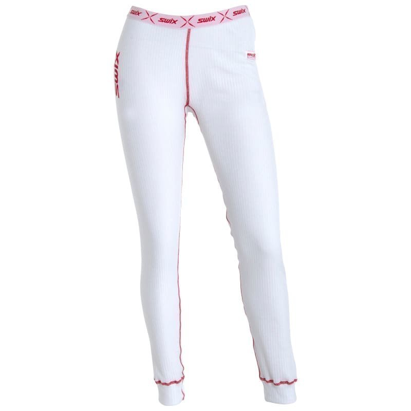 Swix RaceX Bodywear Pants Womens XS Clear White