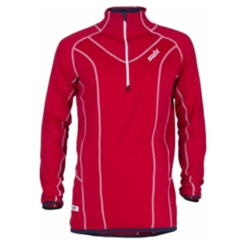 Swix Racex Speed Midlayer Mens L Red