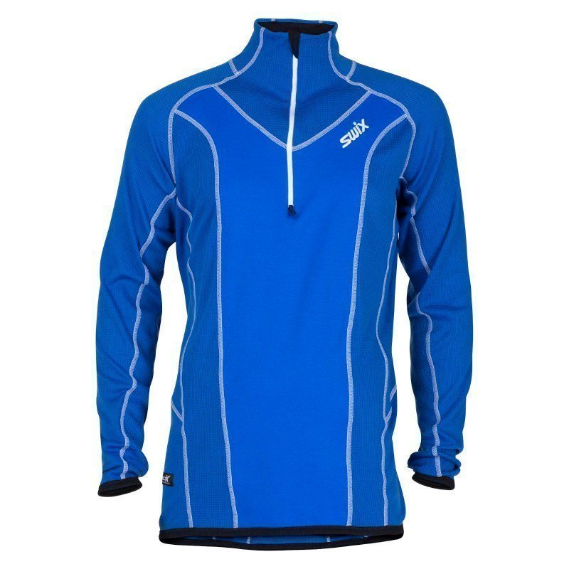 Swix Racex Speed Midlayer Mens L Royal Blue