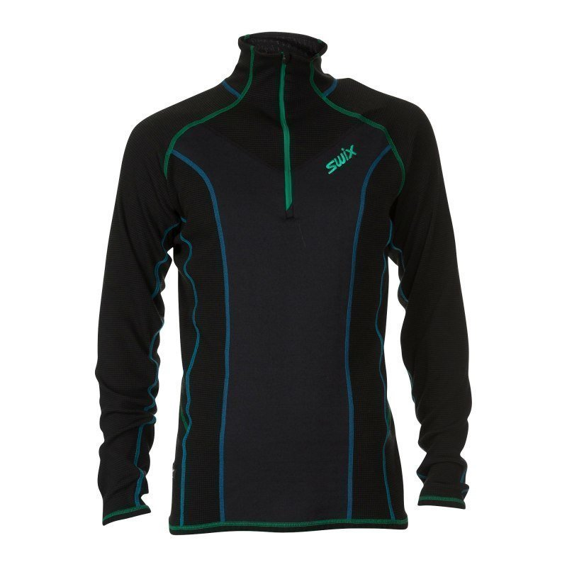 Swix Racex Speed Midlayer Mens M Frozen Black
