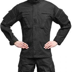 Teesar ACU takki ripstop musta