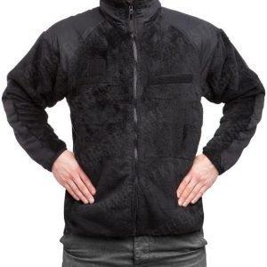 Teesar ECWCS Gen 3 level 3 fleece-takki musta