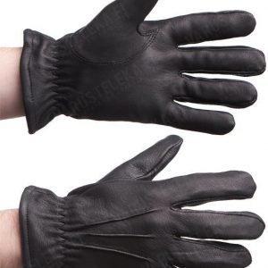 Tegera 950 viiltosuojahanskat nahkaa mustat