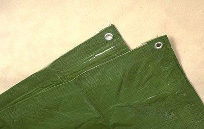 Telttamatto vihreä 3 x 4 M