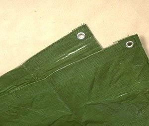Telttamatto vihreä 4 x 5 M