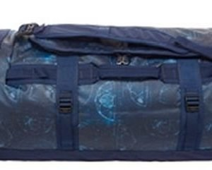 The North Face Base Camp Duffel M Sininen kuviollinen