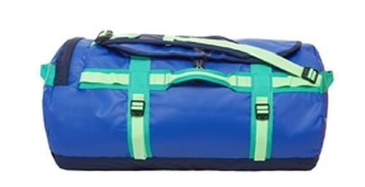 The North Face Base Camp Duffel M sininen/kelt/vihr.