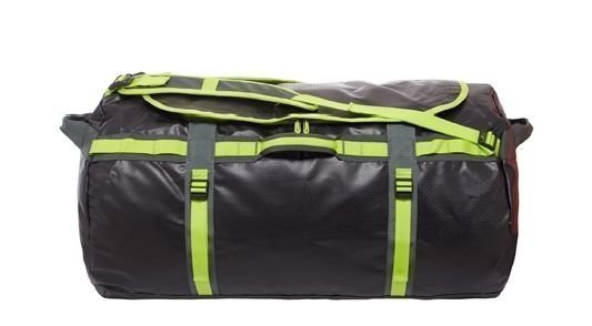 The North Face Base Camp Duffel XL musta/keltainen
