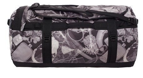 The North Face Base Camp Duffel musta x-ray