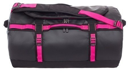 The North Face Base Camp Duffel musta/pinkki
