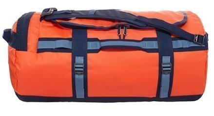 The North Face Base Camp Duffel oranssi