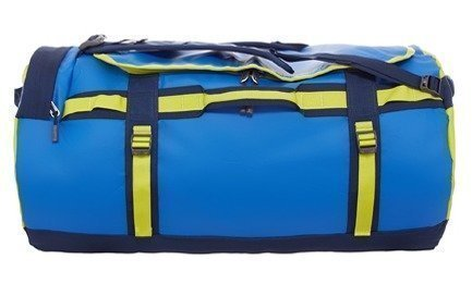 The North Face Base Camp Duffel sininen/keltainen