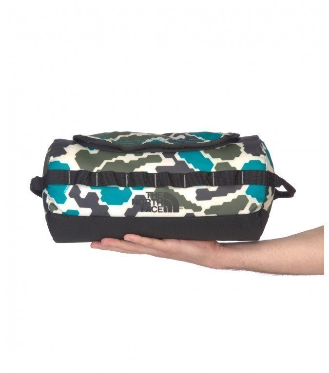 The North Face Base Camp Travel Canister L Jaiden Green / Duckmo Prin