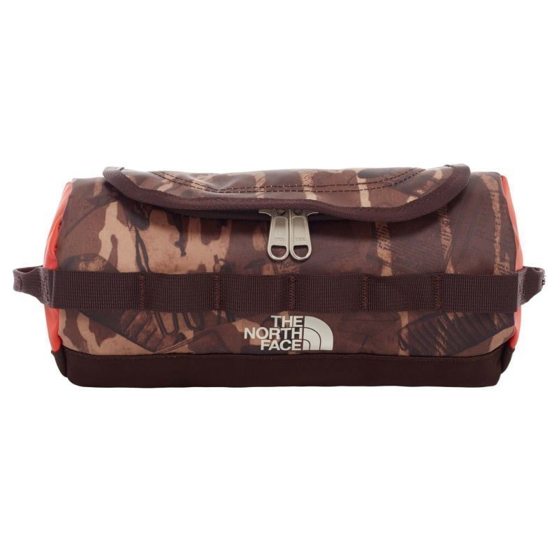 The North Face Base Camp Travel Canister Small OS BRUNETTE BROWN CATALOG PRINT