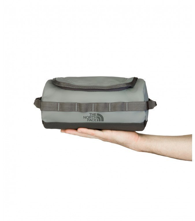 The North Face Base Camp Travel Canister harmaa