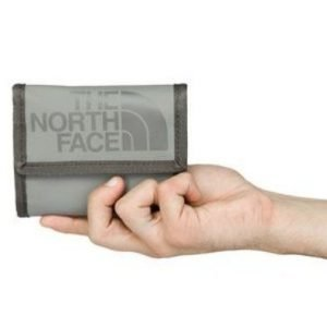 The North Face Base Camp Wallet Harmaa