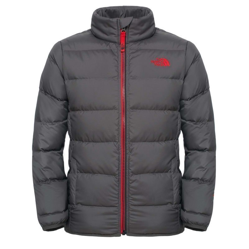The North Face Boys' Andes Jacket M Graphite Grey