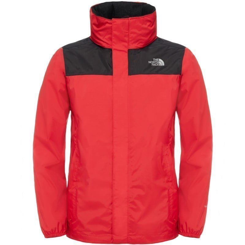 The North Face Boy's Resolve Reflective Jacket M TNF Red