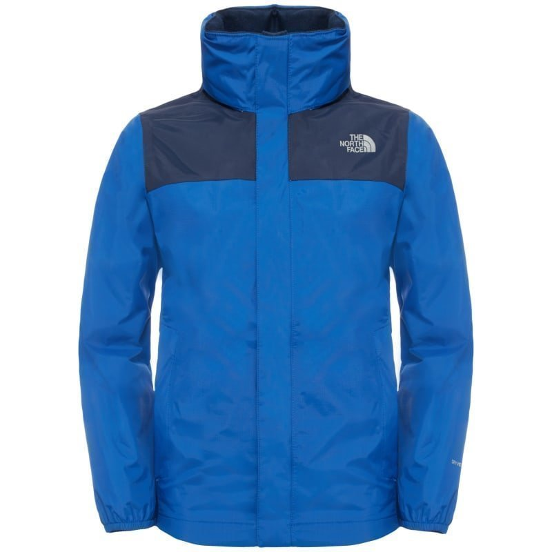 The North Face Boy's Resolve Reflective Jacket S Honor Blue/Cosmic Blue