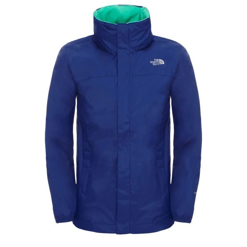 The North Face Boy's Resolve Reflective Jacket S Marker Blue