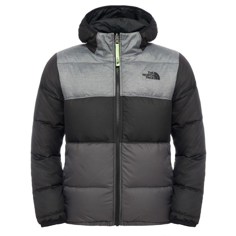 The North Face Boys' Reversible Moondoggy Jacket XS TNF Black