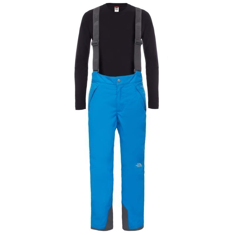 The North Face Boys Snowquest Suspender Pant S Jakeblue/Graphitgrey